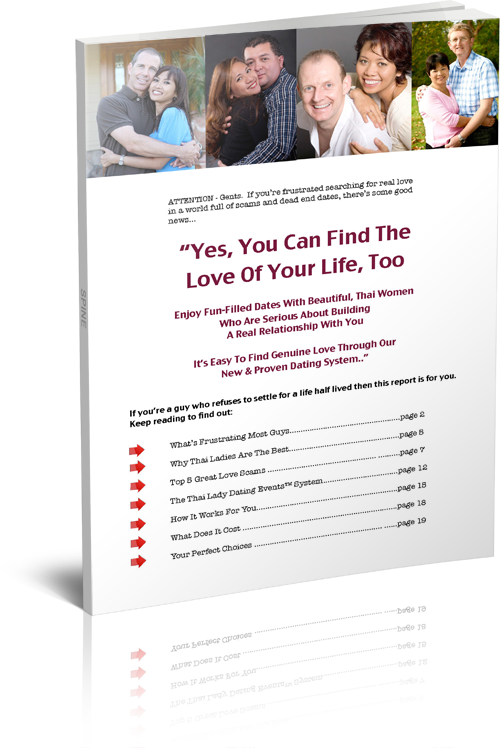 Free Report - Find the love of your life, too.